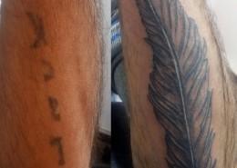 קעקוע קאבר לפני ואחרי