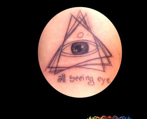קעקוע העין שרואה הכל
